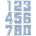 "6"" Jersey Numbers - Template"